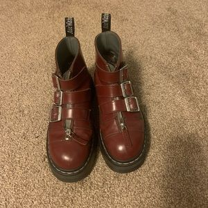 Dr. Martens Aggy Strap boots